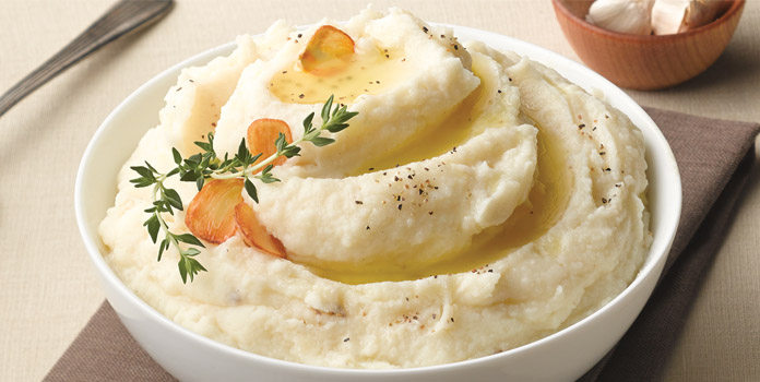 mashed-potato-with-roasted-garlic thanks giving food