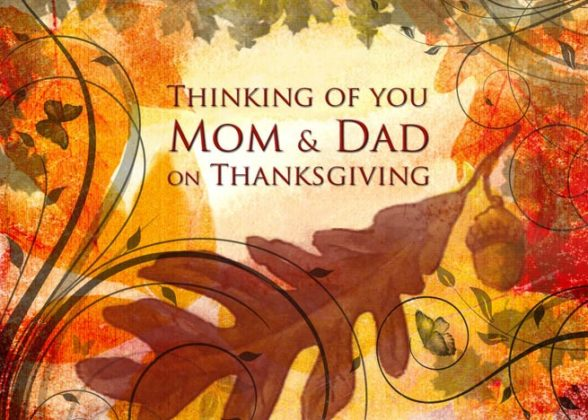 Thanksgiving Cards for Parents 7