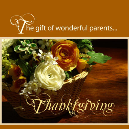 Thanksgiving Cards for Parents 6