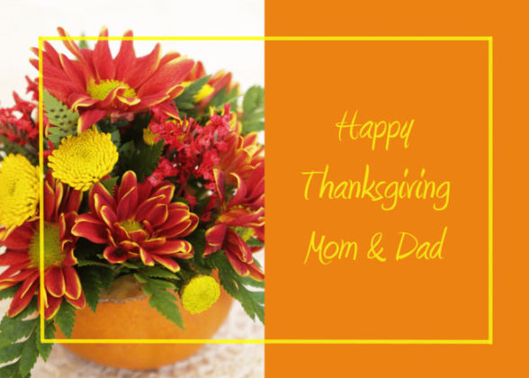 Thanksgiving Cards for Parents 5