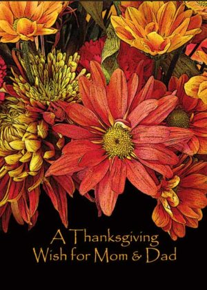 Thanksgiving Cards for Parents 2