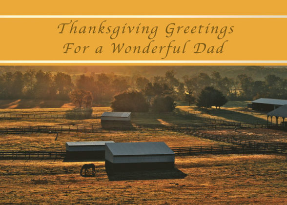 Thanksgiving Cards for Parents 1