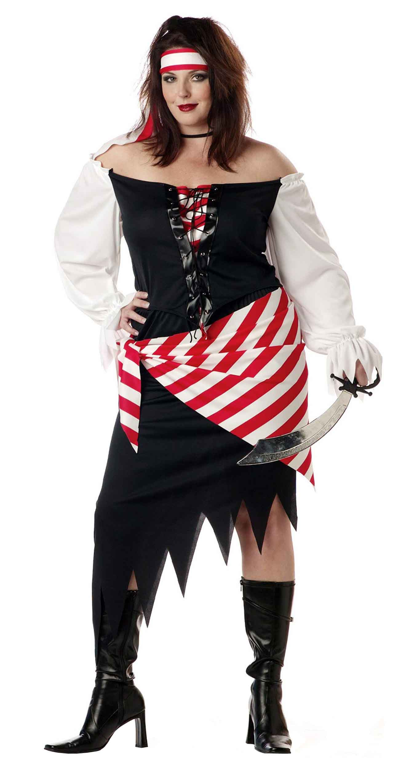 Pirate Beauty Plus Size Halloween Costume For Women