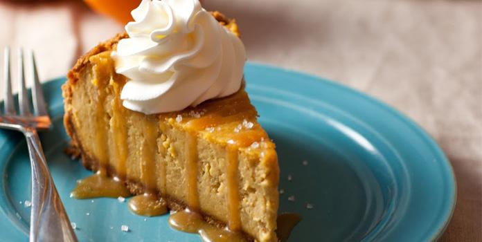 pumpkin-cheesecake thanks giving foods