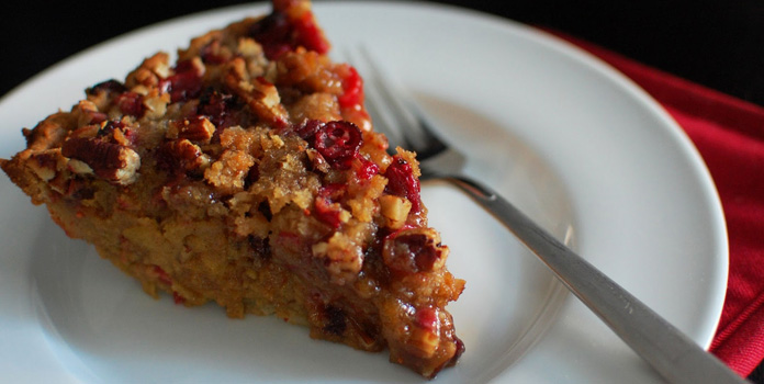 pumpkin-cranberry-pie thanks giving food