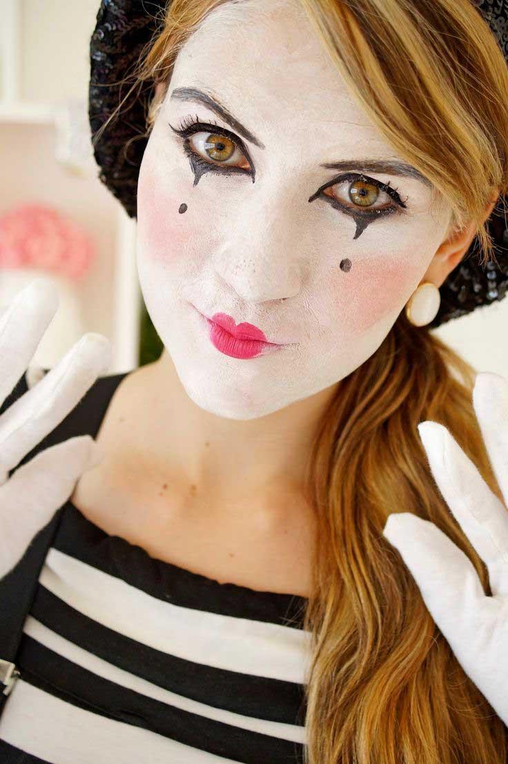 quick halloween makeup idea