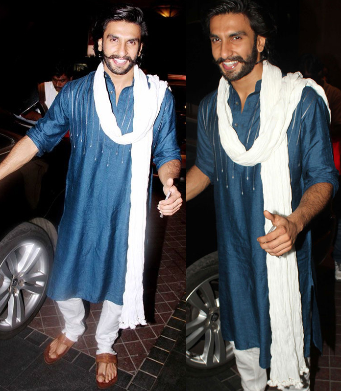 ranveer-rocks-in-kurta-pyzama-with-kolhapuri-chappals-new