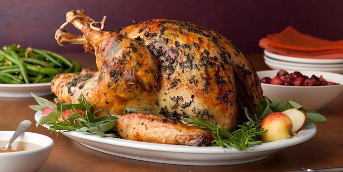 roasted-brined-turkey thanks giving foods