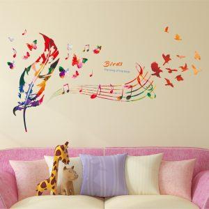 Song of Birds Bedroom Wallpaper