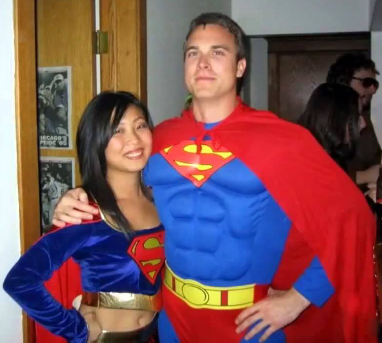 Super Couple Halloween Costume  sc 1 st  Living Hours & 27 Couple Halloween Costumes For You u0026 Your Partner | LivingHours