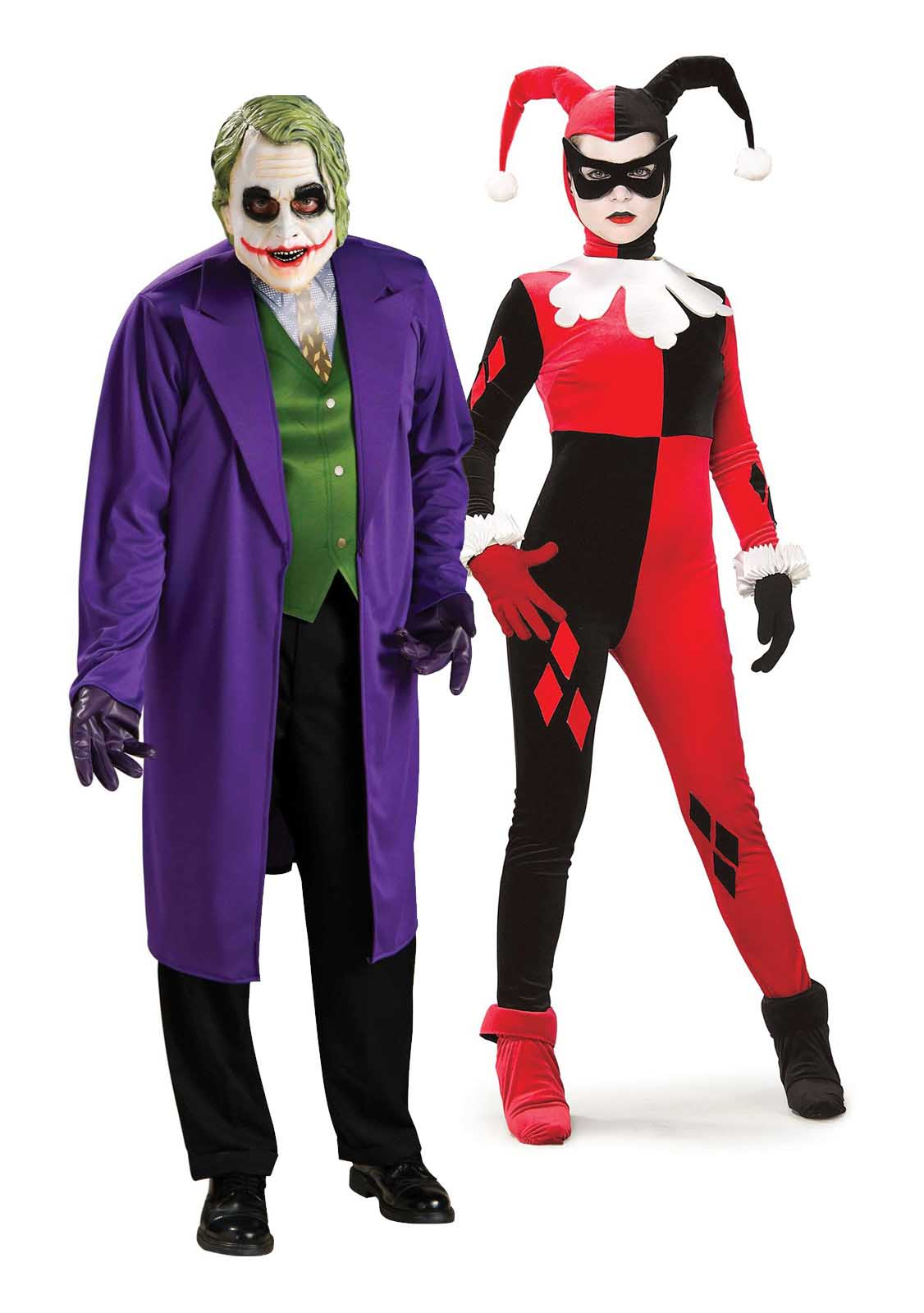 Superhero and Villain Couple Costume  sc 1 st  Living Hours & 27 Couple Halloween Costumes For You u0026 Your Partner | LivingHours