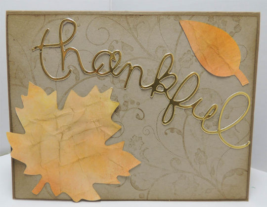 Thanksgiving Cards for Friends 1
