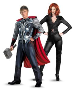 thor-and-black-widow-halloween-dress