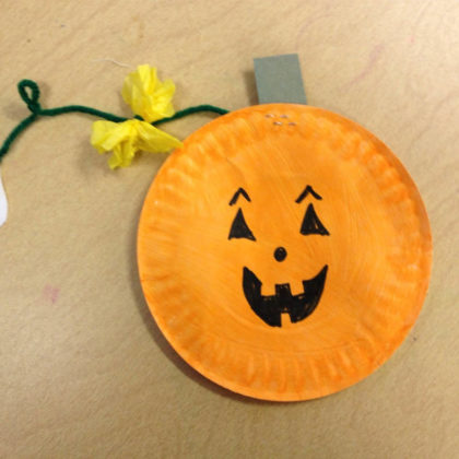 tissue-paper-pumpkin-craft