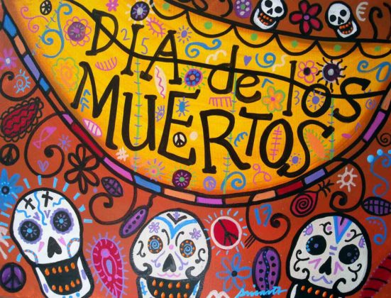 Day of the Dead Artwork 13