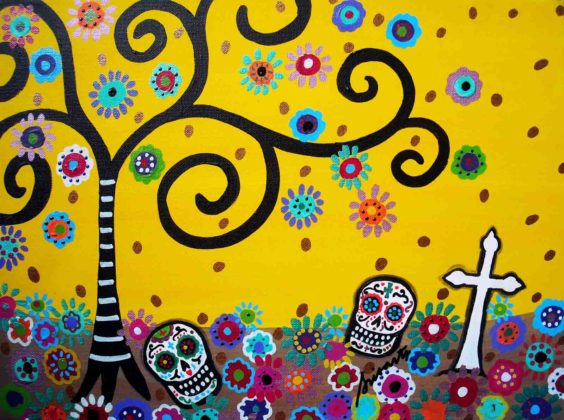 Day of the Dead Artwork 14