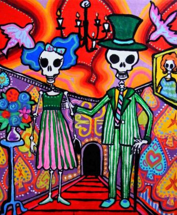 Day of the Dead Artwork 15