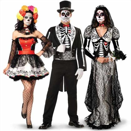 Day of the Dead Costumes 21