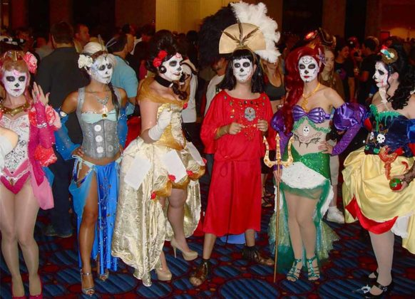 Day of the Dead Costumes 26
