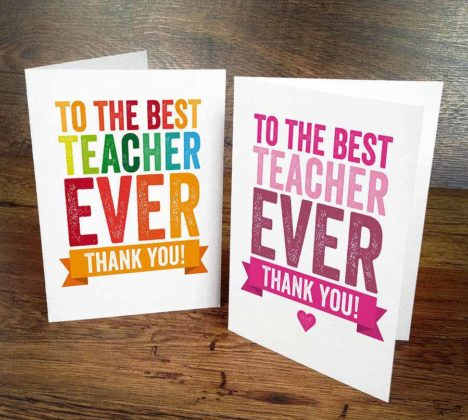 Thanksgiving Cards for Teachers 2