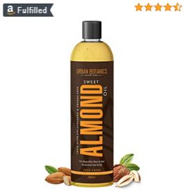 urbanbotanics almond oil for dark circles