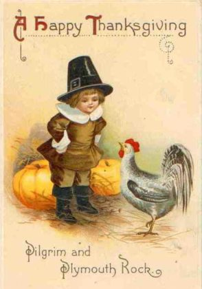 Vintage Thanksgiving Cards 6