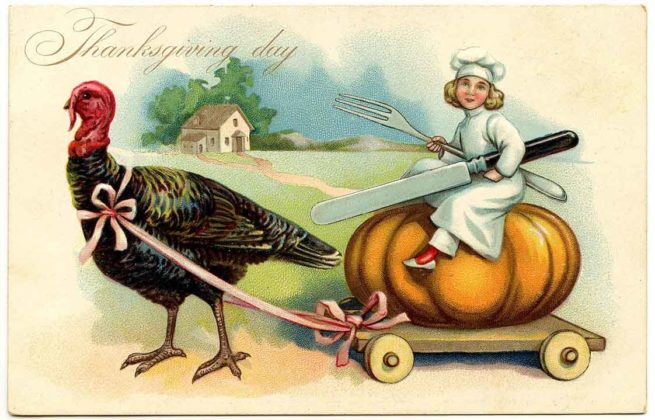 Vintage Thanksgiving Cards 4