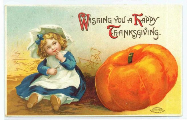 Vintage Thanksgiving Cards 3