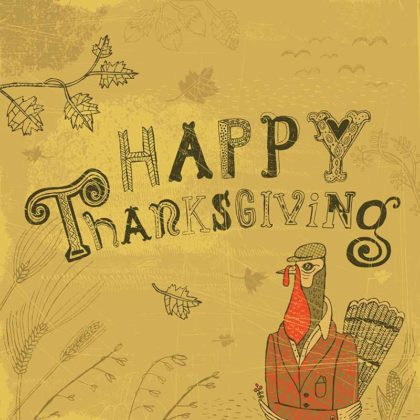 Vintage Thanksgiving Cards 1