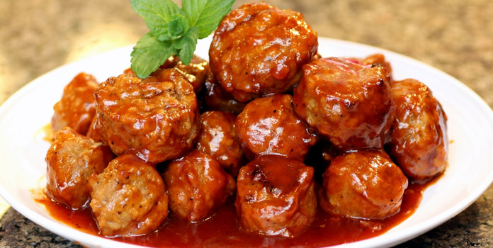 barbecue-meatballs