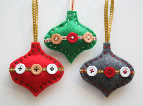 Diy Felt Christmas Decoration