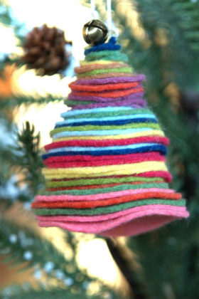 Diy Felt Christmas Decoration24