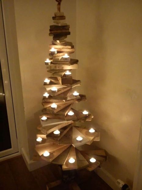 diy pallet christmas tree wooden christmas decorations