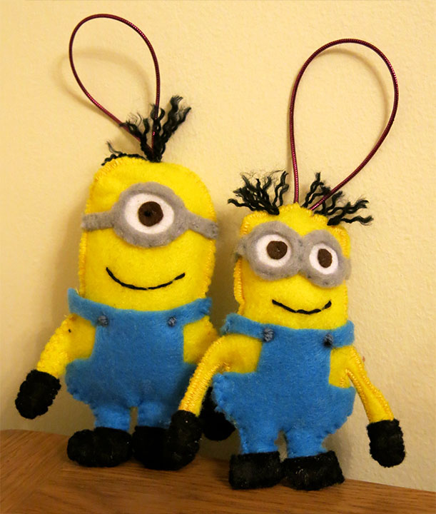 felt-minions-christmas-ornament