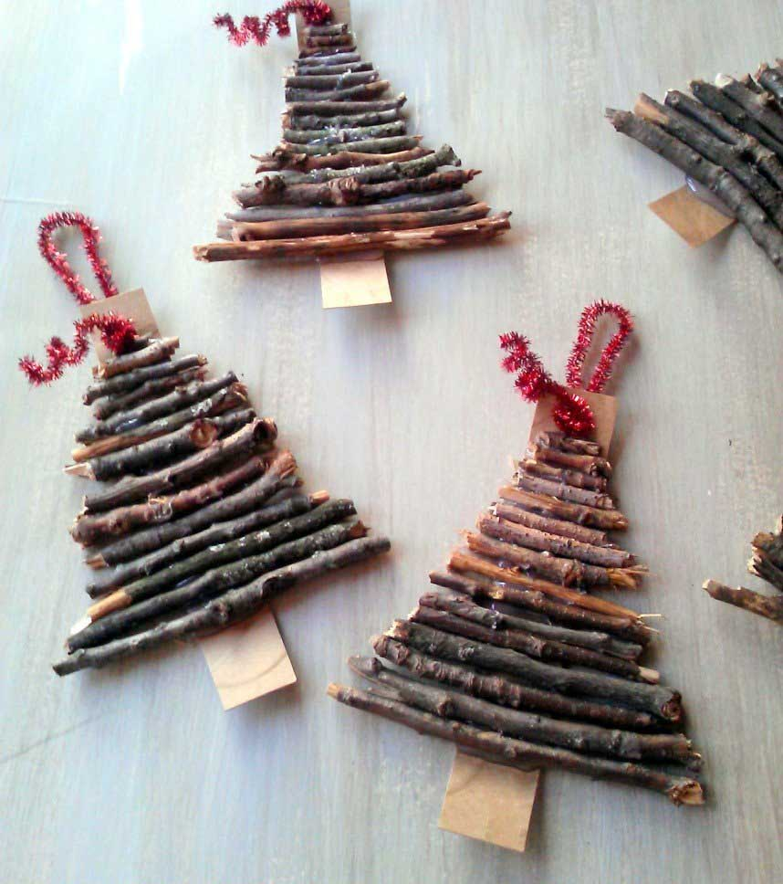 homemade christmas tree decoration ideas 06 - Homemade Christmas Tree Decoration Ideas