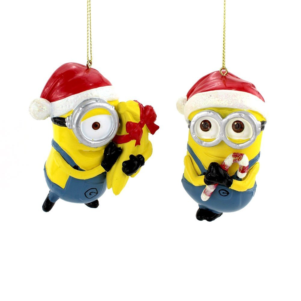 minions christmas ornaments