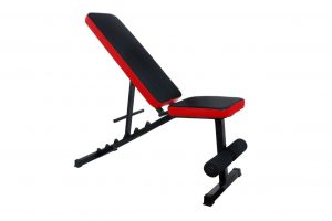 Fitness bench for workouts like Christian bale workout.