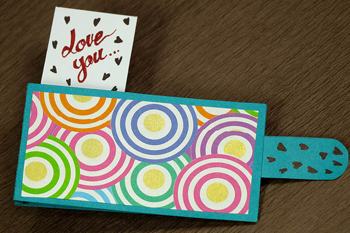 Love You Pop Out Card