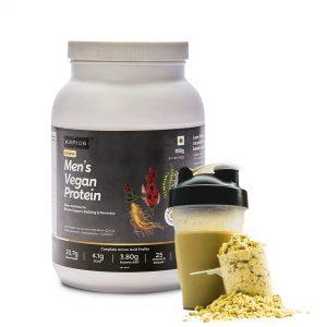 men's vegan protein for muscle building