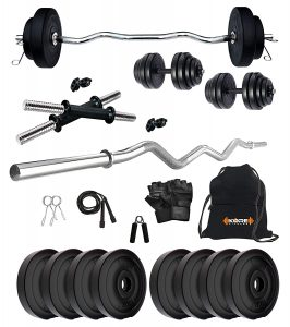Gym set for different kinds of workouts