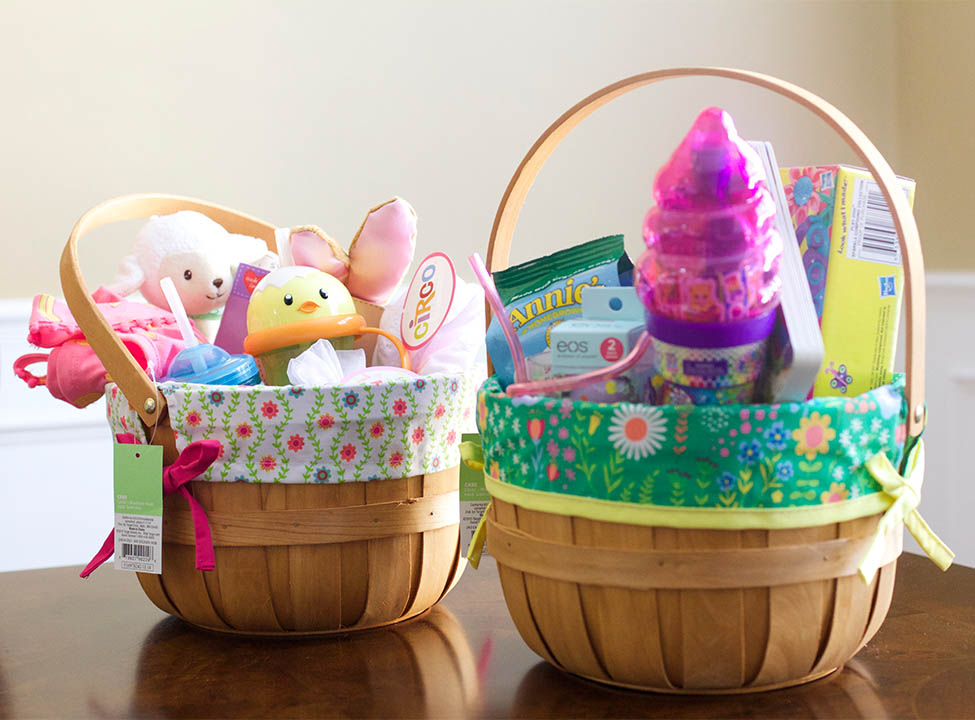 Candy-Less Easter Basket