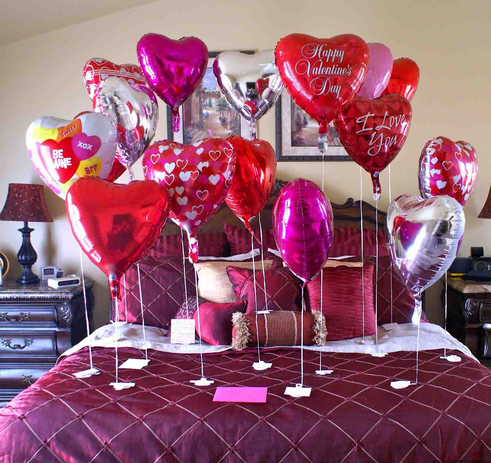 Cute Valentine Hearts for Room Decor