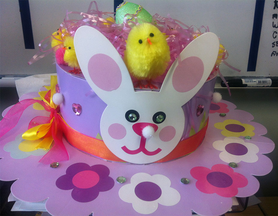 DIY Easter Hat