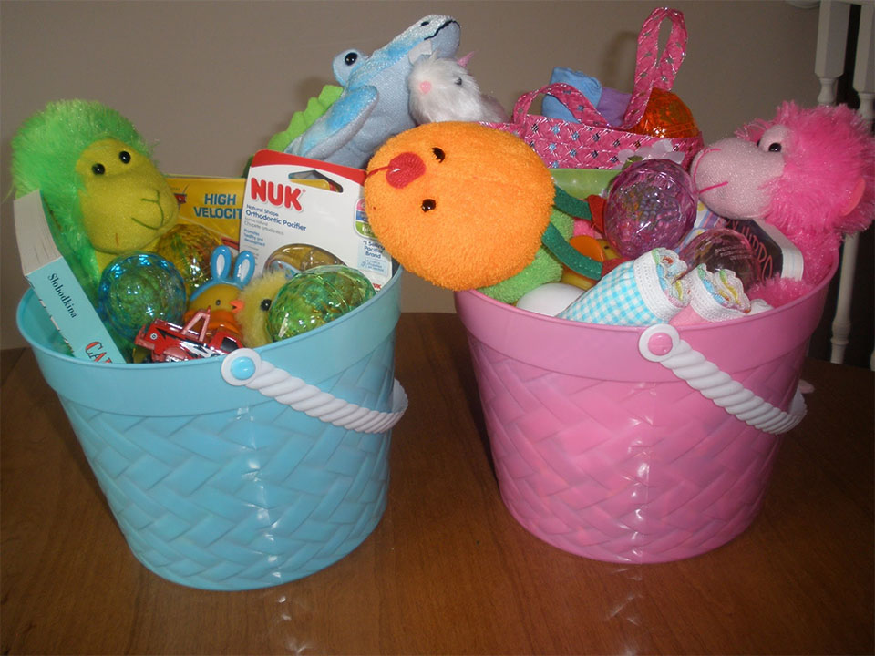Easter Basket for Babies