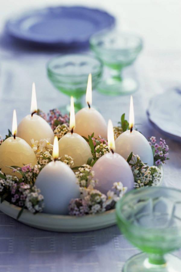 Easter Egg Table Decoration