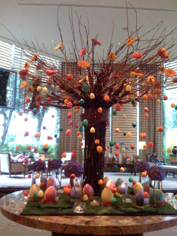 Easter Flower Decoration