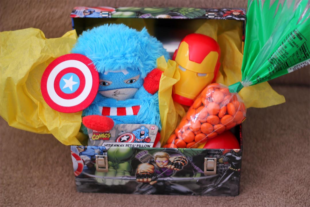 Easter Gift Basket for Boys
