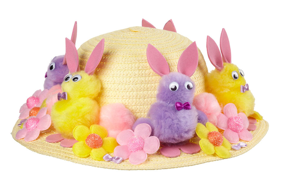 Easter Rabbit Bonnet