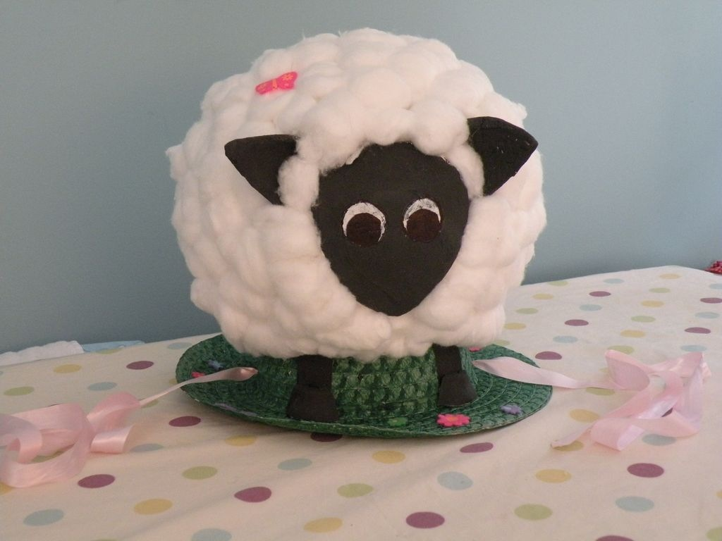 Easter Sheep Hat