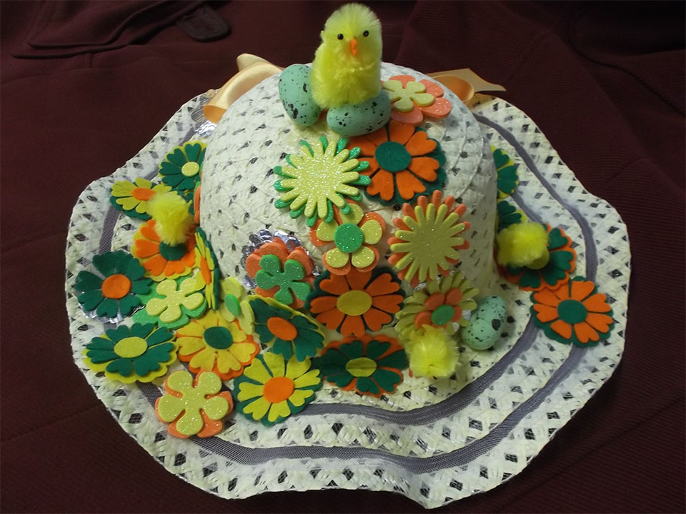 Easy Easter Hat for Kids